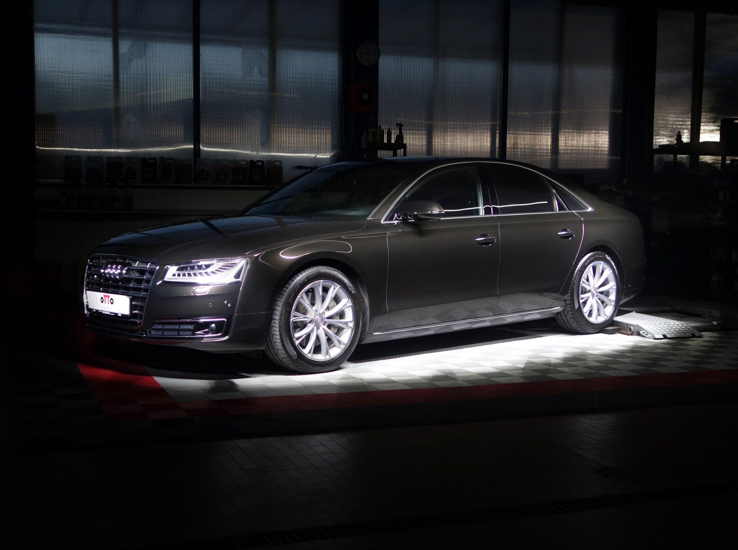 Audi A8 Keramik Versiegelung